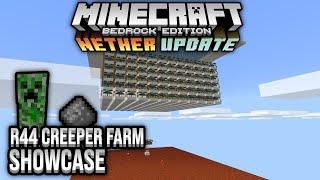 R44 Creeper Farm Showcase Minecraft Bedrock 1.16 Nether Update