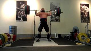 Donny Shankle clean and jerk 170kg at Eleiko Sports Center in Chicago