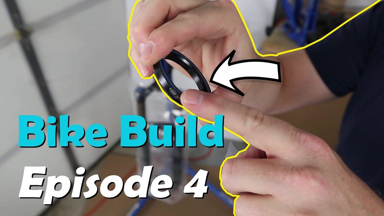 Episode 4 2018 Santa Cruz 5010 V2 1 Al Bike Build Fox Factory 36 Fork Install