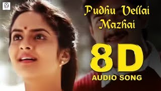 Pudhu Vellai Mazhai 8D Audio Songs Roja Must Use Headphones Tamil Beats 3D