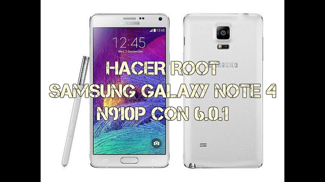 Root Samsung Galaxy Note 4 N910p Sprint Android 6 0  1