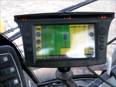 Trimble Ez Guide 500 Youtube
