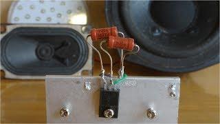 як зробити простий підсилювач звуку