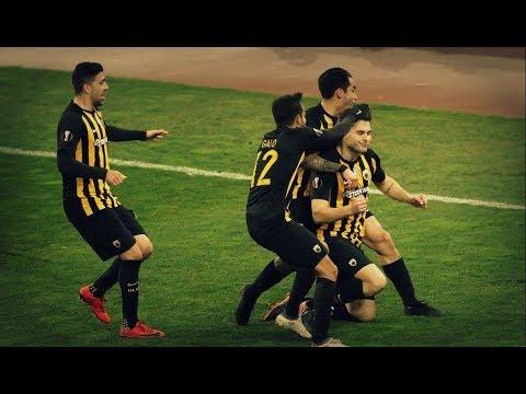 aekfans21.com - Ajdarevic Goal | AEK - Dynamo Kiev 1-1 | Europa League | 15/2/2018