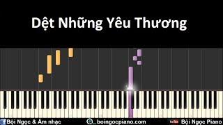 Dệt Những Yêu Thương - Đoàn Thúy Trang | Piano Tutorial #38 | Bội Ngọc Piano