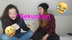 7 Sekunden Challenge😂 mit Ruby M. Lichtenberg Teil 1 💖AnnaShirin