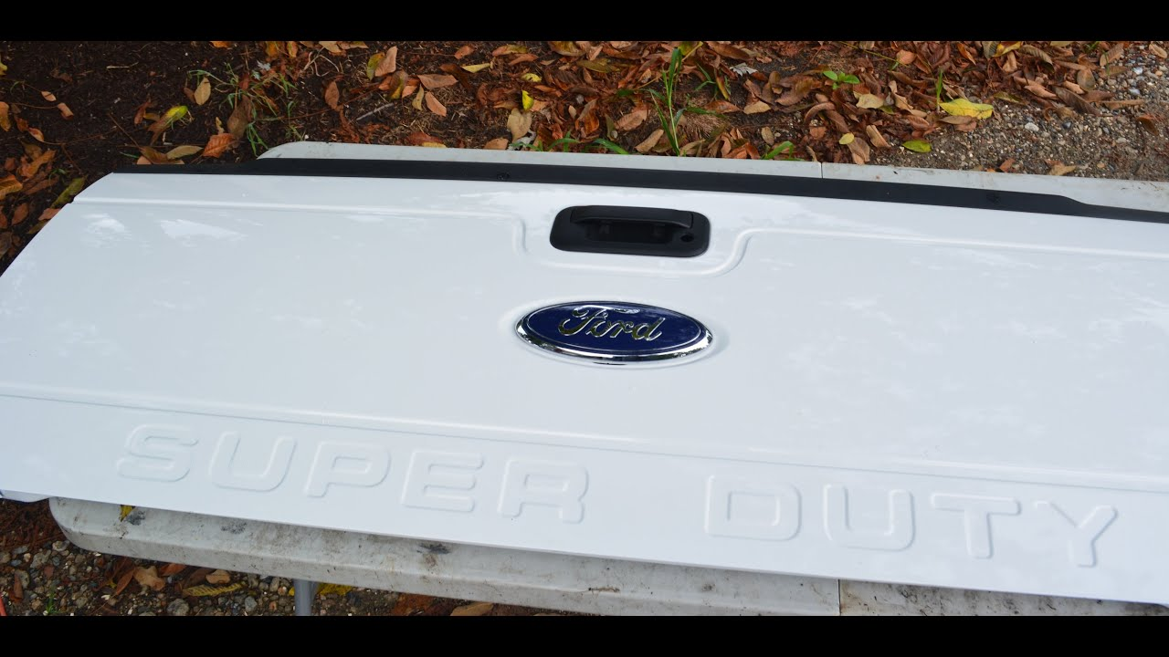 2016 Ford Super Duty >> f250 tailgate UPGRADE and Install - YouTube