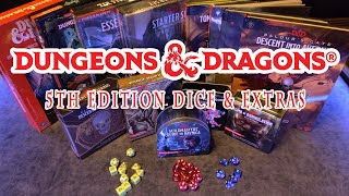 D&D 5e Dice with Extras Overview