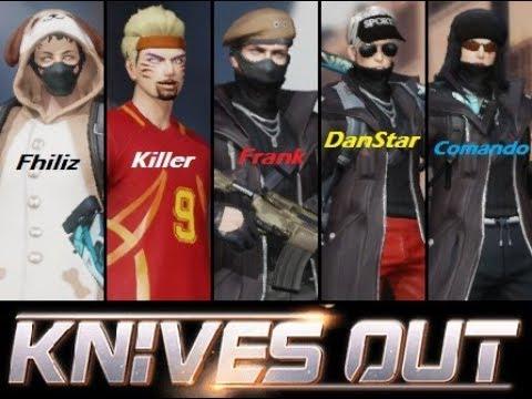 5 Locos sueltos en Knives Out!!! 🇻🇪💪🏾🤣