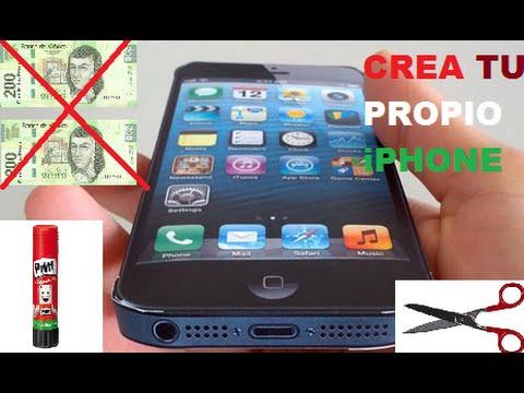 Como Hacer Un Iphone 6 De Carton Fabrica Tu Propio Iphone