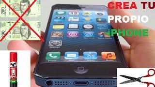 Como Hacer Un iPhone 6 De Carton - Fabrica Tu Propio iPhone