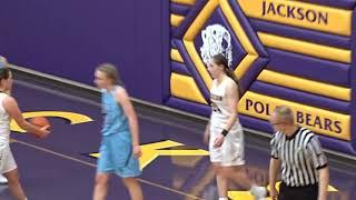 Louisville Leopards at Jackson Polar Bears Girls Basketball Tournament Highlights 2 22 2018