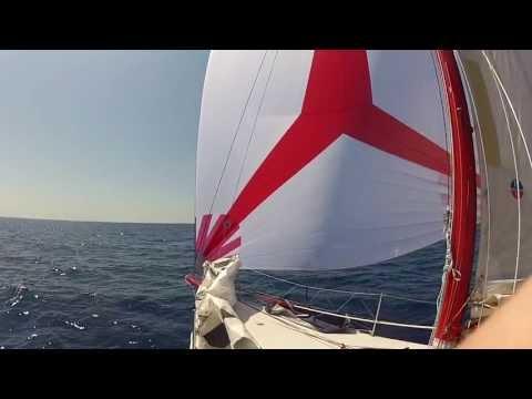 Sailing @ the Mediterranean sea