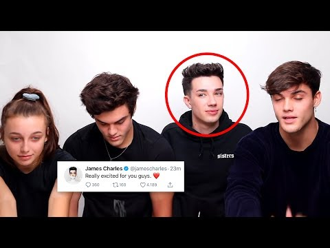 james charles tries to contact sister squad.. thumbnail