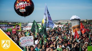 Hambacher Forst: Tausende sorgen für Festivalstimmung bei Kundgebung