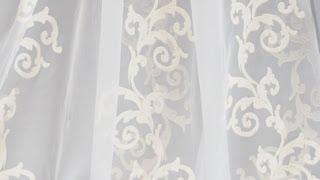 Видео - тюль бестселлер Katarina с узором вензелями, колонны.(Тюль - органза Катарина из коллекции Зашто.ру. Другие цвета смотрите на сайте www.zashto.ru Готовые шторы Катарин..., 2013-06-25T09:51:42.000Z)