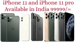 Introducing iPhone 11 pro and iPhone 11  12MP Triple Camera  iOS 13