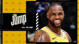 Will the top seed in the West be important for the Lakers? | The Jump