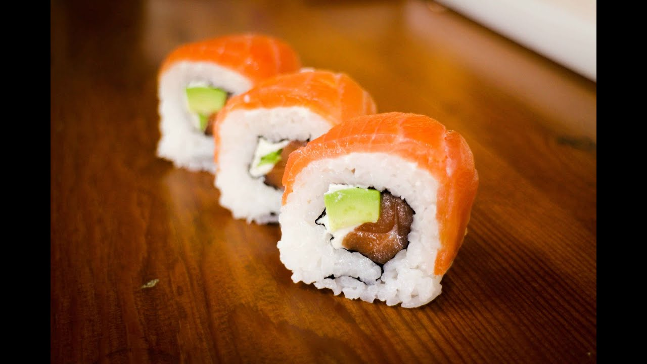 Image result for salmon sushi