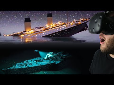 Experiencing the Titanic Sinking & Diving For Titanic Treasure! - Titanic VR Gameplay