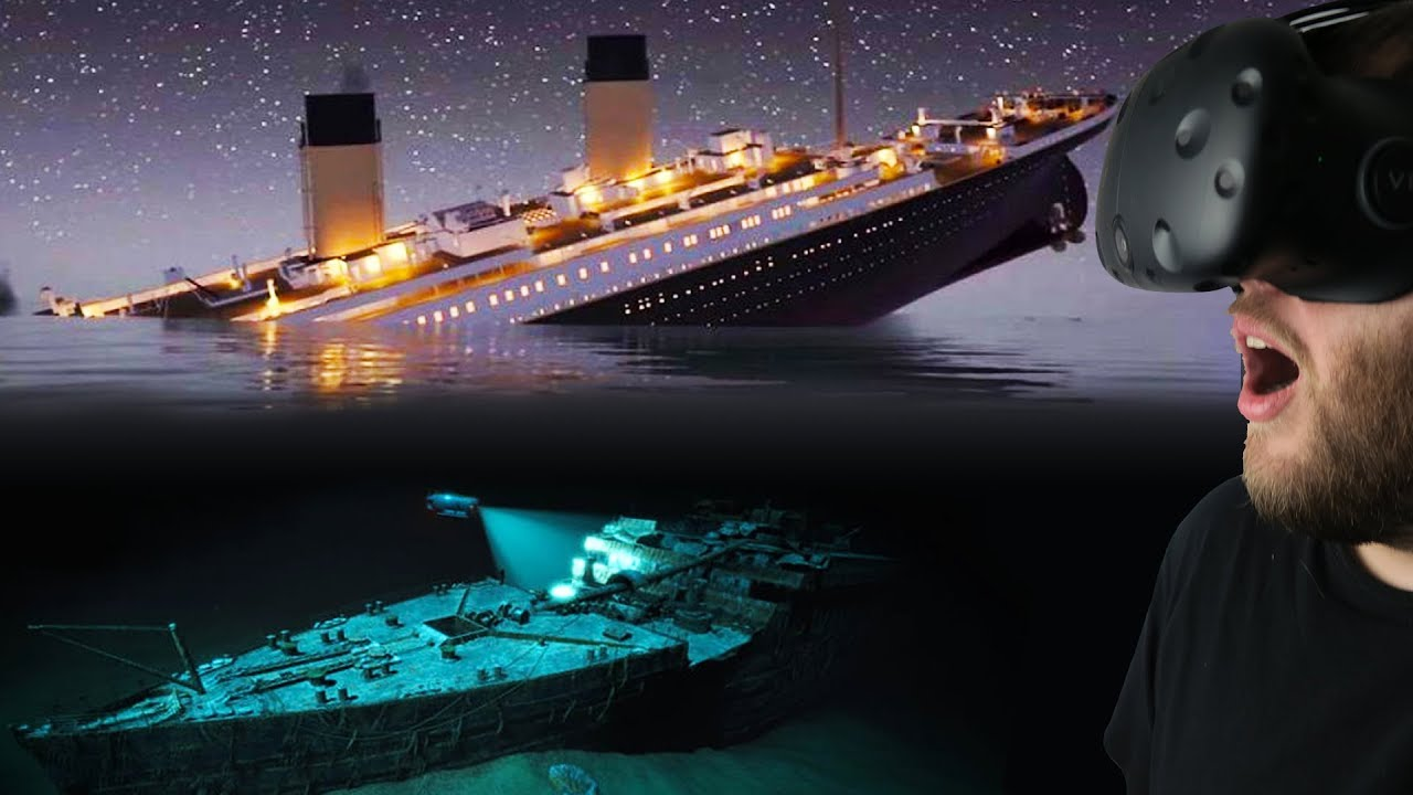 Experiencing The Titanic Sinking Amp Diving For Titanic