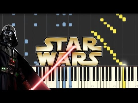 Star Wars (Main Theme) 4 Hands Piano - SYNTHESIA