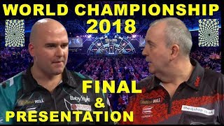 Cross v Taylor FINAL 2018 World Championship & Presentation