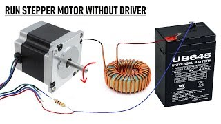 Video Wow !! Run Stepper Motor without a Driver Circuit || New Idea 2018 - PCBWAY download MP3, 3GP, MP4, WEBM, AVI, FLV November 2018