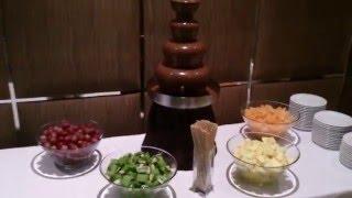 видео Аренда шоколадного фонтана