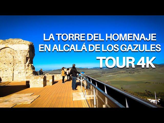 La Torre del Homenaje en Alcalá de los Gazules - Tour 4K