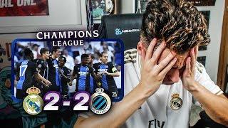 REACCIONES DE UN HINCHA Real Madrid vs Brujas 2-2 *LO MISMO DE SIEMPRE*