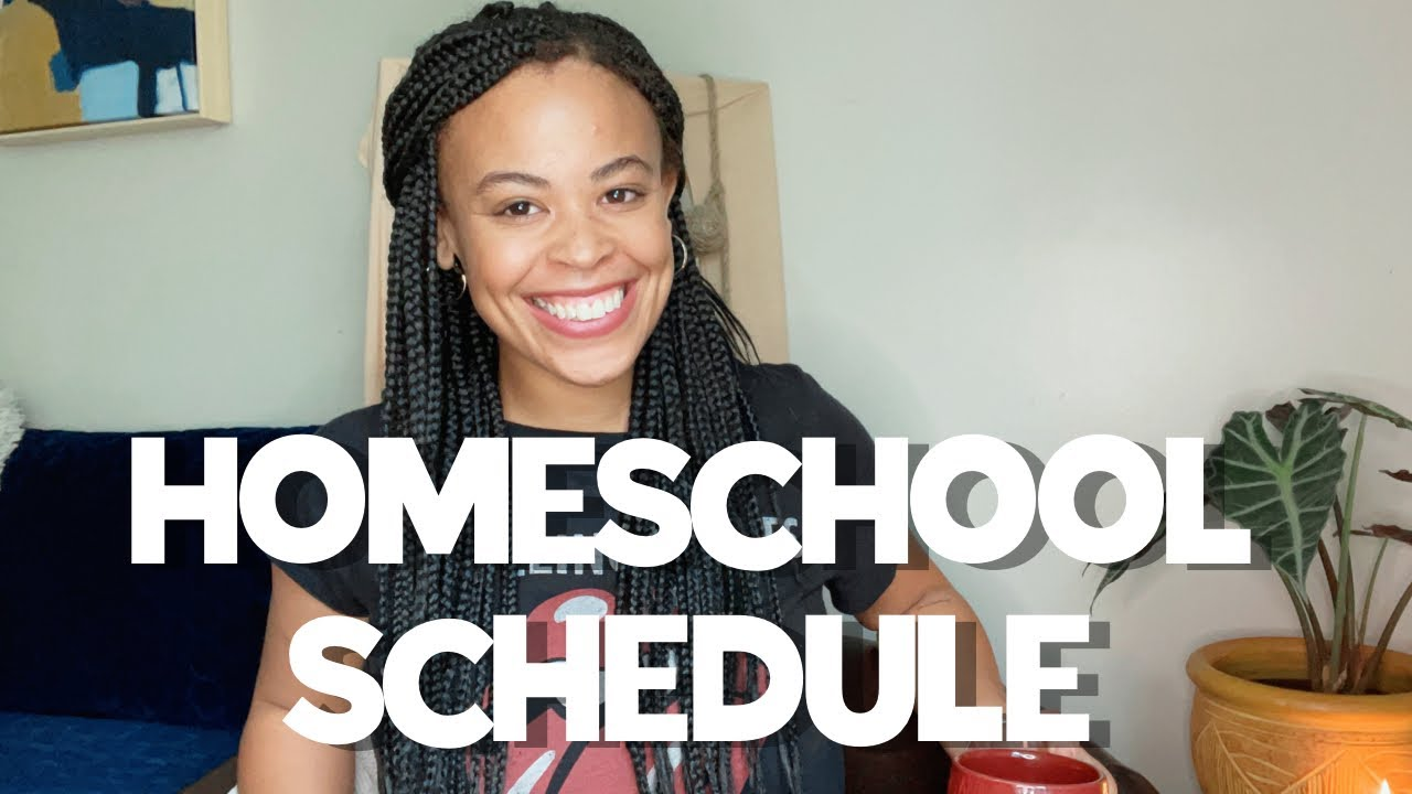 My *NEW* Homeschool Schedule - yearly AND daily