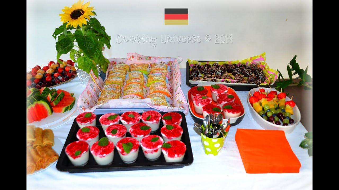 Fingerfood canapes appetizer desserts party food buffet for Canape desserts
