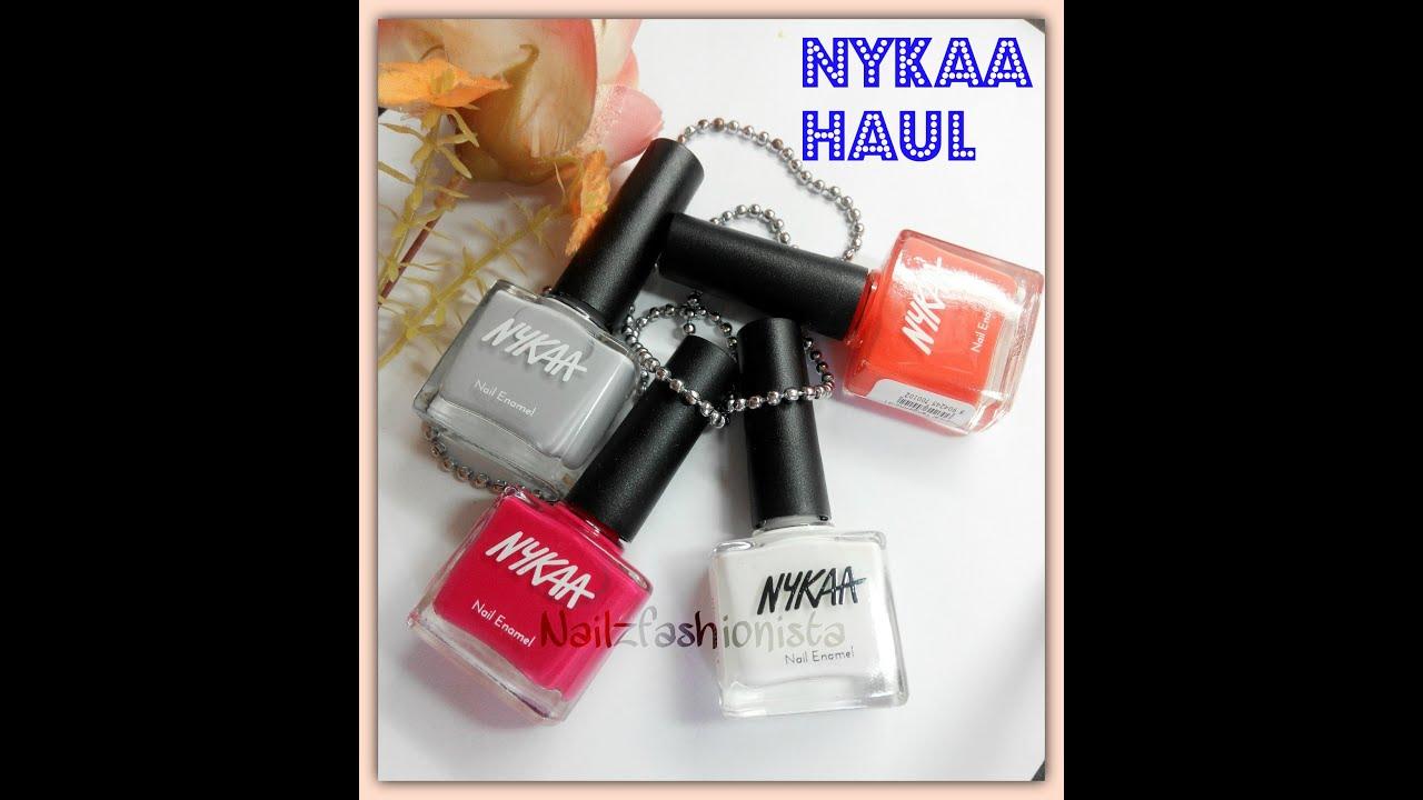 Nykaa Chrome Nail Polish Review: Nykaa Nail Polish Haul Review + Swatch