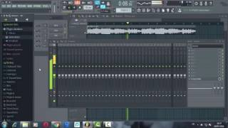 Fl studio 12 making a trap