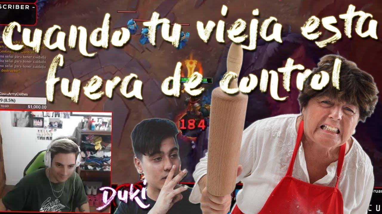 Duki cuando tu vieja esta fuera de control youtube for Fuera de control dmax