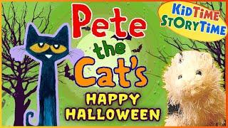 Pete The Cat's Happy Halloween 🎃 Halloween Book For Kids Read Aloud