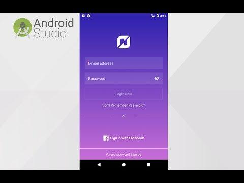 Android UI XML Tutorial - Instagram Login