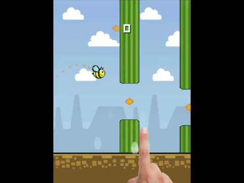Flappy honeybee: Fly like a bird for Android (Google Play)