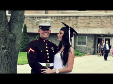 Cutest military couple...for my marine