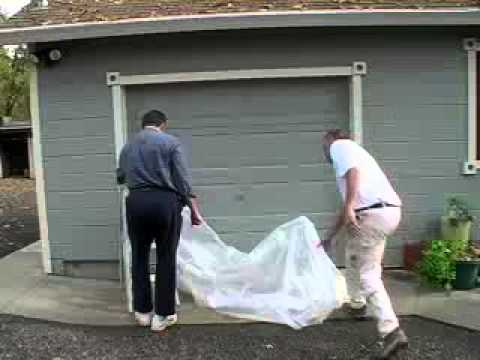 Stormtec Sandbags For Your Garage Door Youtube