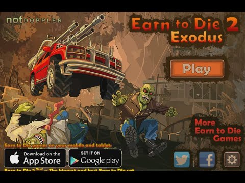 Флеш игра Добраться до вертолёта 2: Исход (Earn to Die 2: Exodus)
