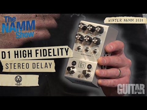 Winter NAMM 2020: Walrus Audio Introduces D1 High Fidelity Stereo Delay Effects Pedal