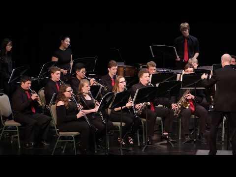 Northwood Temple Academy 8th-12th Grade Band - Blue Ridge Saga - James Swearingen