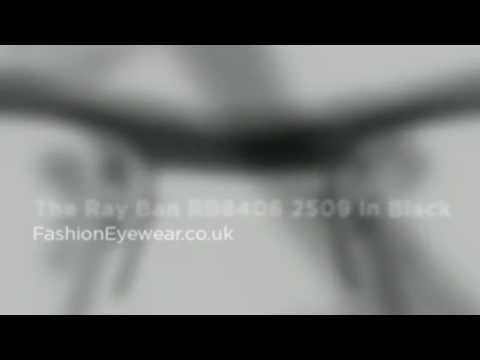 1b220ff346 The Ray Ban RB8406 2509 In Black - YouTube