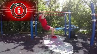 Тренировка на спорт площадке / Workout on sport place  Fitness / Фитнес / Exercise  Упражнения