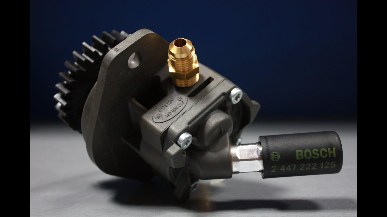 схема механический топливный насос рено 18