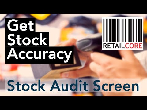 Stock Auditing - GST Billing, Barcode Label, Inventory Management Software  - RetailCore Software