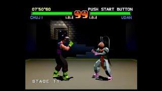 Tobal No. 1 (PlayStation) Tournament Mode as Chuji