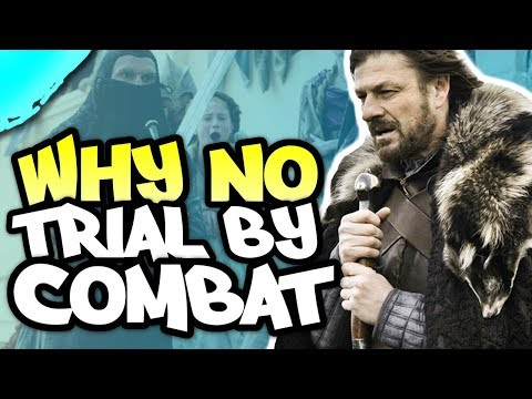 ❓ Why didn't Ned demand a Trial by Combat in ⚔ Game of Thrones